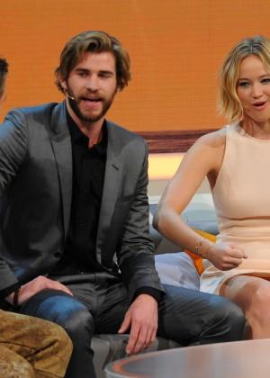 Jennifer Lawrence - Wetten dass TV Show -27