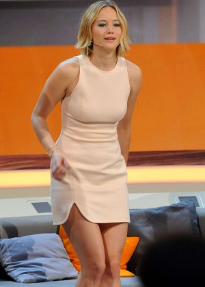 Jennifer Lawrence - Wetten, dass..? TV Show in Germany