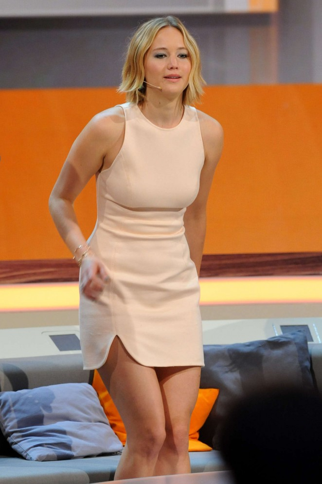 Jennifer Lawrence – Wetten, dass..? TV Show in Germany
