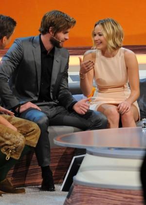 Jennifer Lawrence - Wetten dass TV Show -29