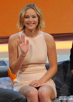 Jennifer Lawrence - Wetten dass TV Show -33