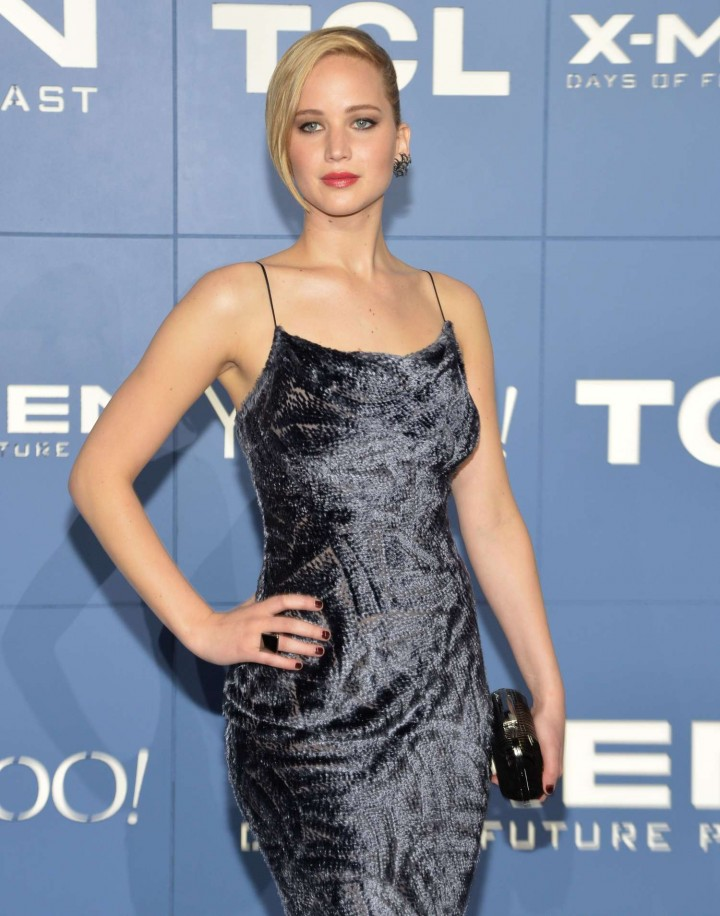 Jennifer Lawrence – X-Men: Days Of Future Past premiere -01