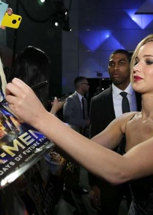 Jennifer Lawrence - X-Men: Days Of Future Past premiere -06