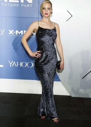 Jennifer Lawrence - X-Men: Days Of Future Past premiere -08