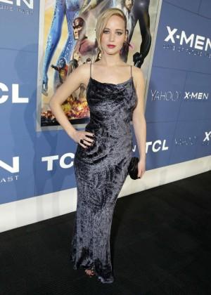 Jennifer Lawrence - X-Men: Days Of Future Past premiere -09