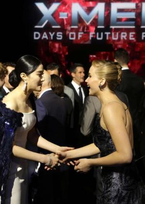 Jennifer Lawrence - X-Men: Days Of Future Past premiere -17