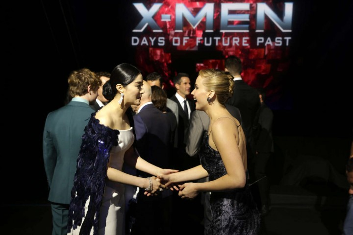 Jennifer Lawrence – X-Men: Days Of Future Past premiere -17