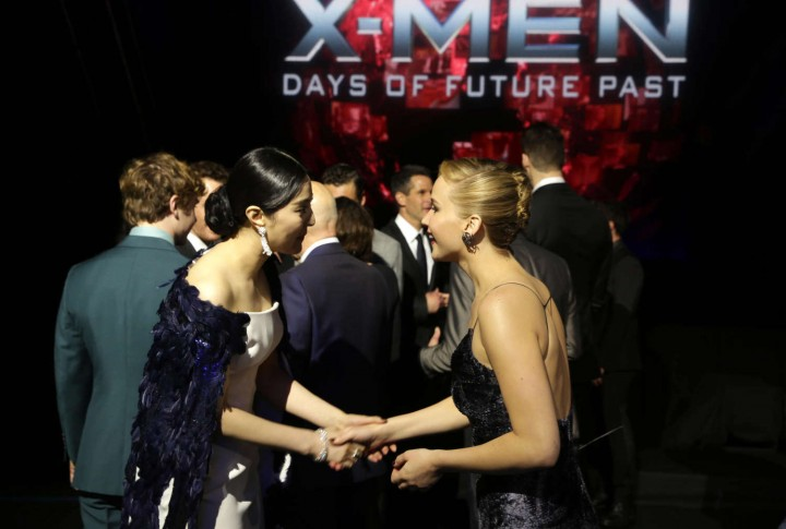 Jennifer Lawrence – X-Men: Days Of Future Past premiere -20