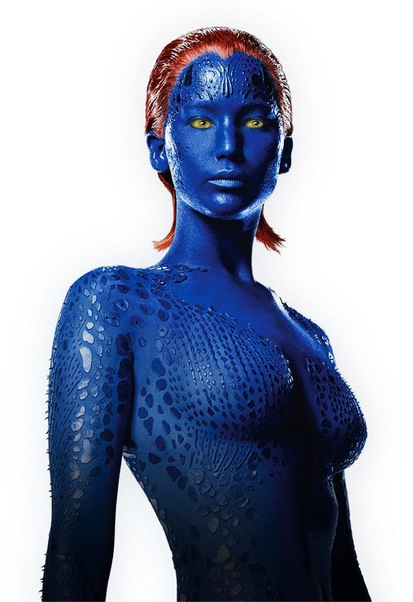 Jennifer Lawrence: X-Men: Days of Future Past -07