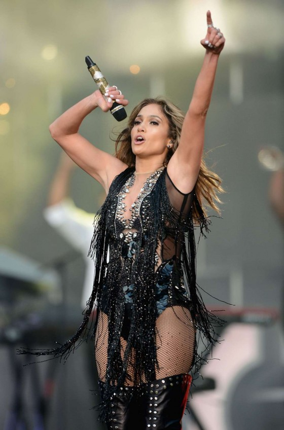 Jennifer Lopez - 2013 Chime For Change concert in London-64