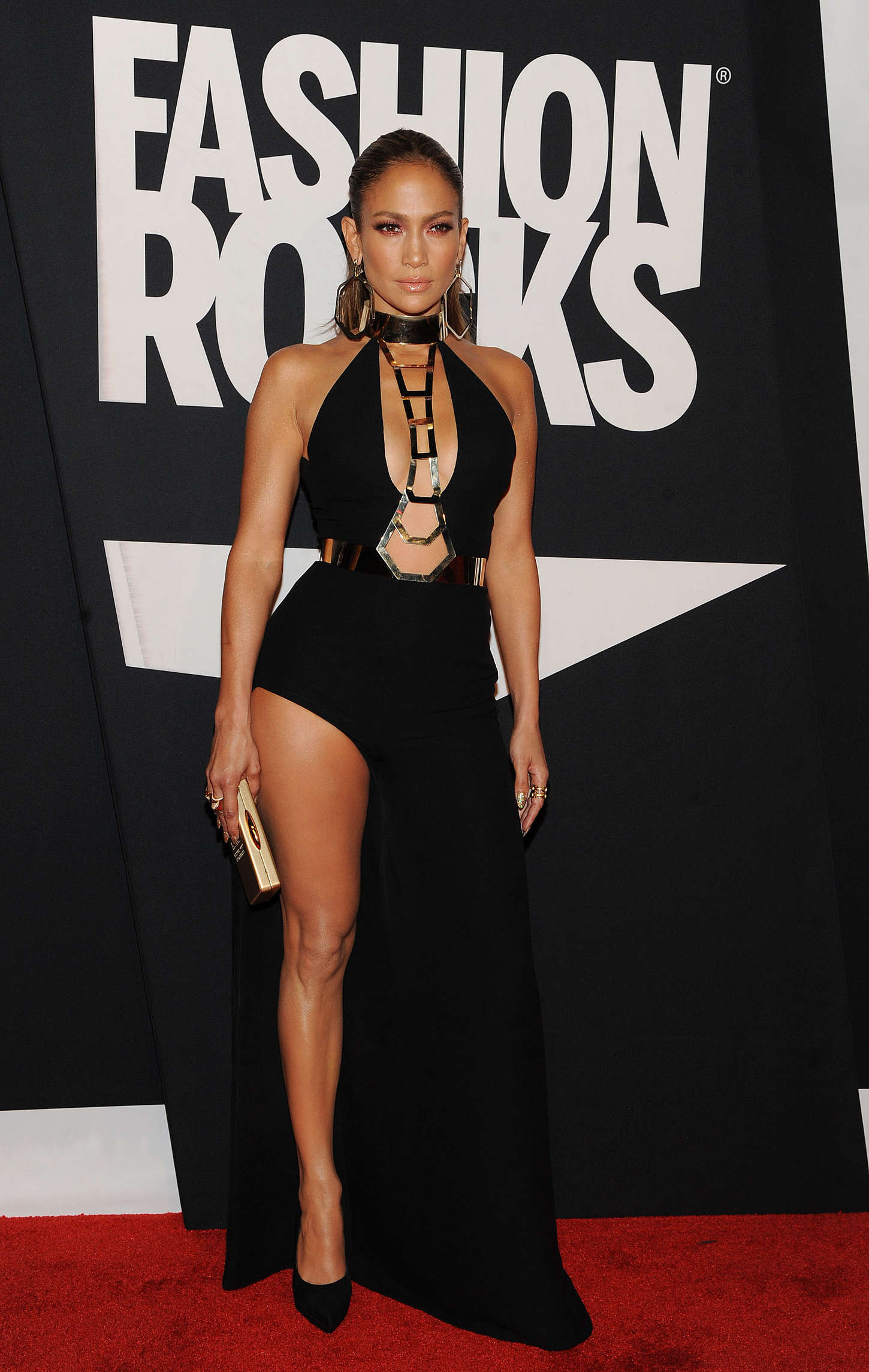 Jennifer Lopez: Red Carpet at 2014 Fashion Rocks in NY-04 ...