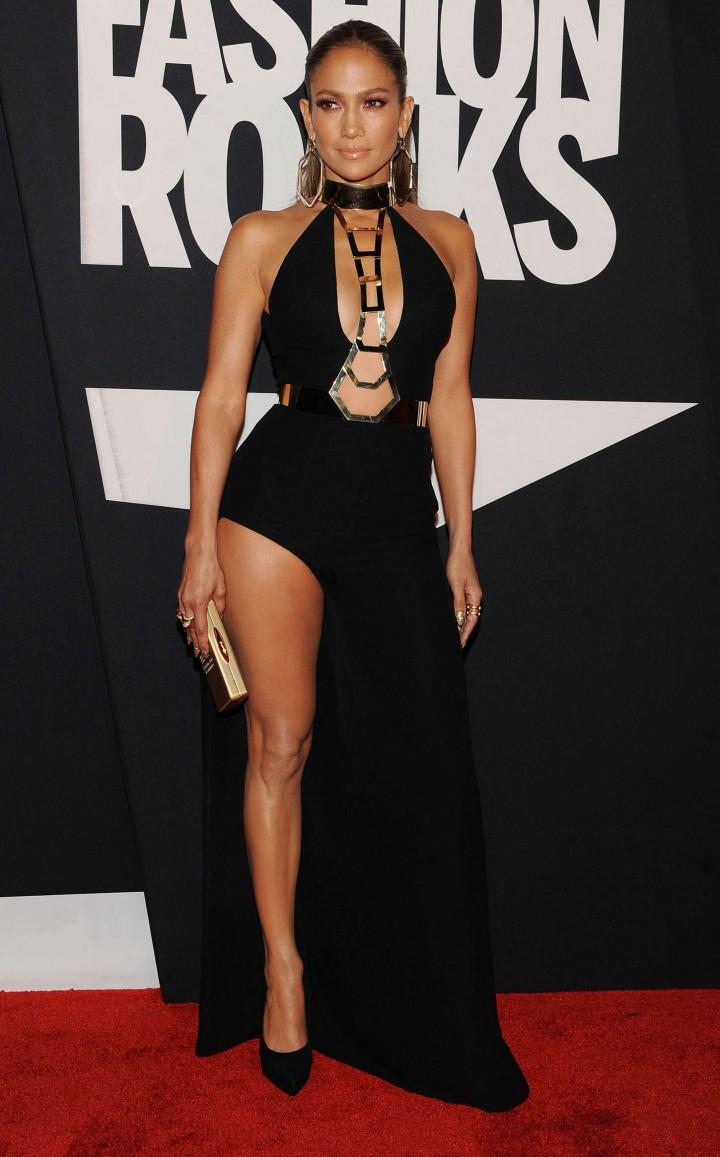Jennifer Lopez: Red Carpet at 2014 Fashion Rocks in NY-14 ...