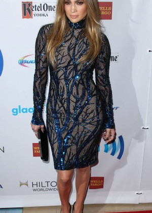 Jennifer Lopez: 2014 GLAAD Media Awards -01