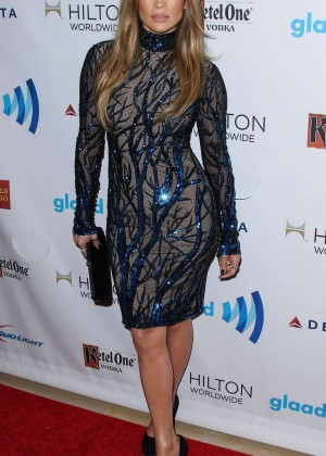 Jennifer Lopez: 2014 GLAAD Media Awards -02