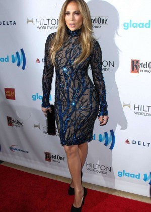 Jennifer Lopez: 2014 GLAAD Media Awards -05