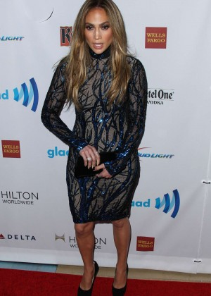 Jennifer Lopez: 2014 GLAAD Media Awards -06