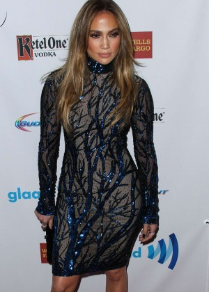 Jennifer Lopez: 2014 GLAAD Media Awards -07