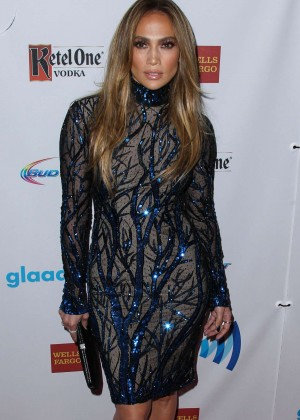 Jennifer Lopez: 2014 GLAAD Media Awards -09