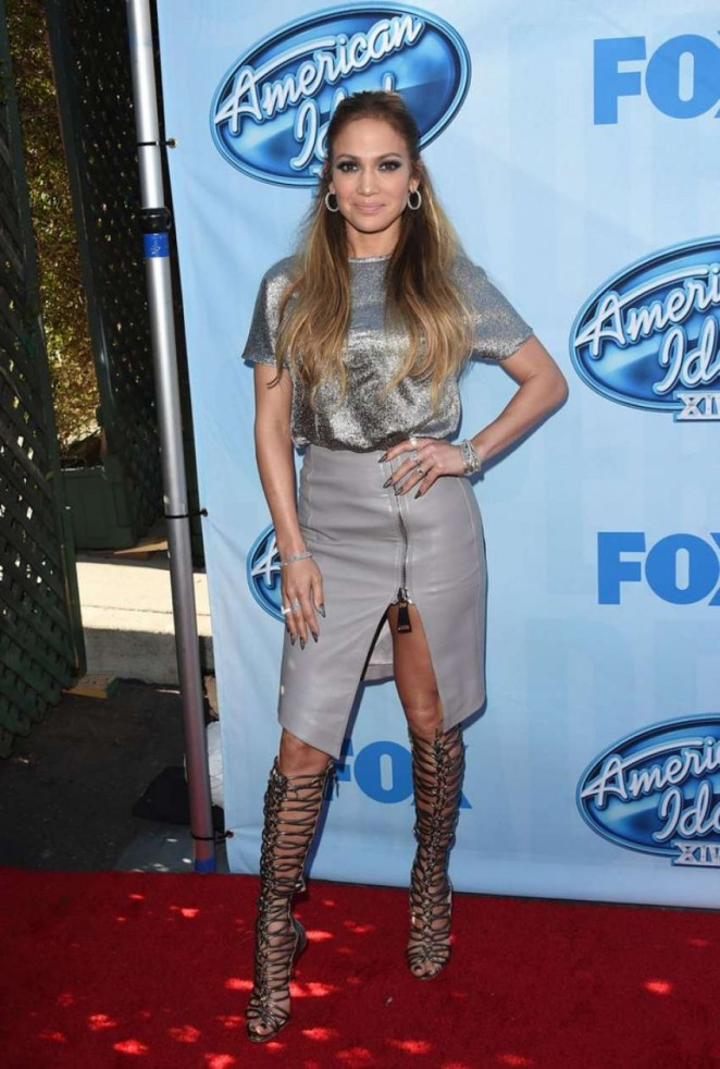 Jennifer Lopez - American Idol XIV Event in Los Angeles
