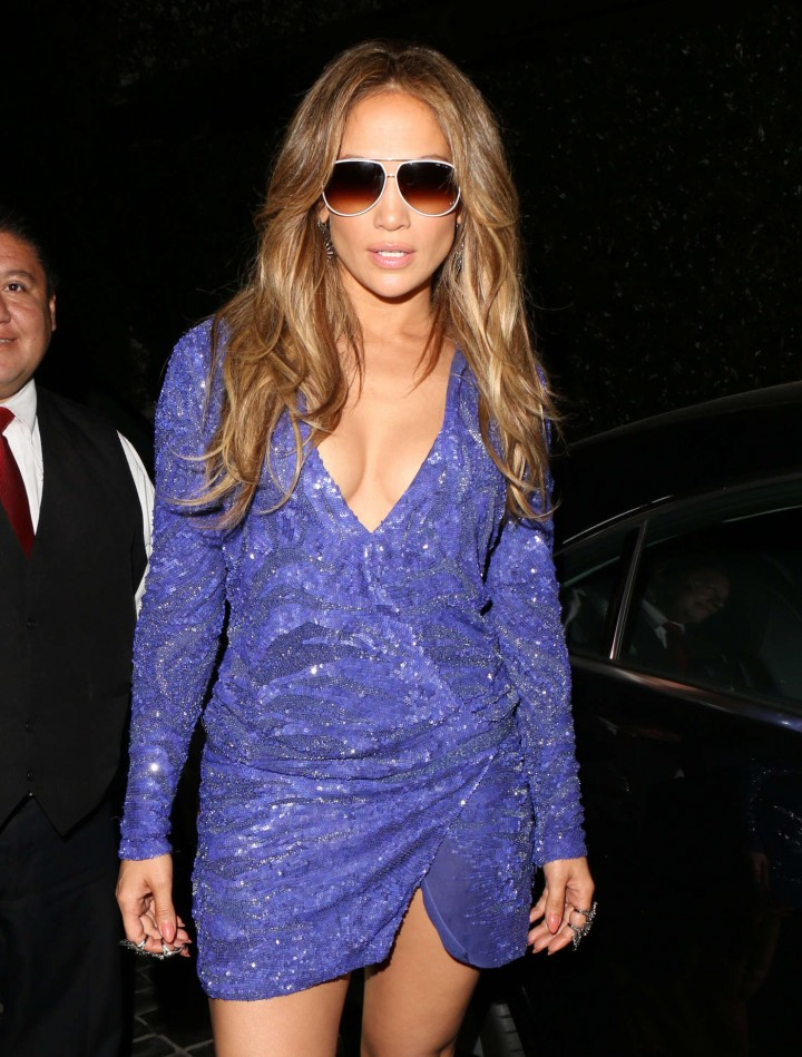 Jennifer Lopez at Cecconi in West Hollywood