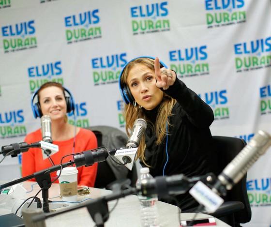 Jennifer Lopez at Z100 Studio -03