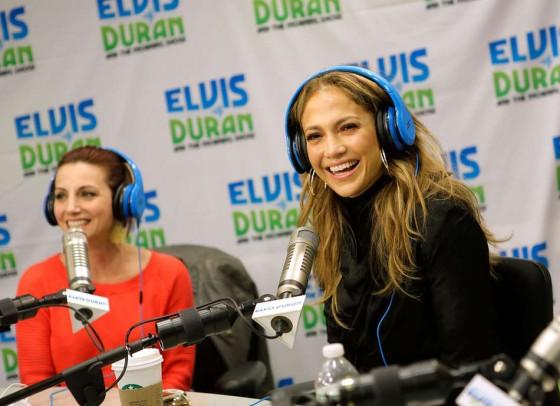 Jennifer Lopez at Z100 Studio -08