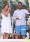 Jennifer Lopez - Bikini on a yacht in Miami-04