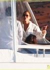 Jennifer Lopez - Bikini on a yacht in Miami-16