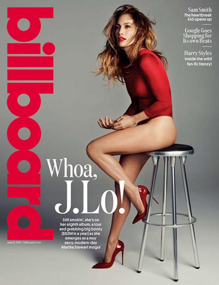 Jennifer Lopez – Billboard Magazine (June 2014)