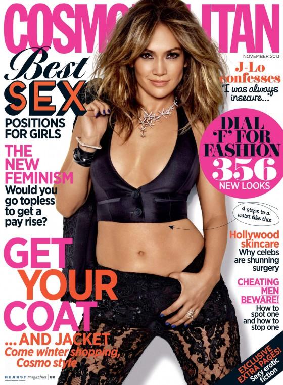 Jennifer Lopez – Cosmopolitan UK Magazine (November 2013)