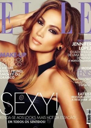 Jennifer Lopez - Elle Portugal Magazine Cover (Novembre 2014)