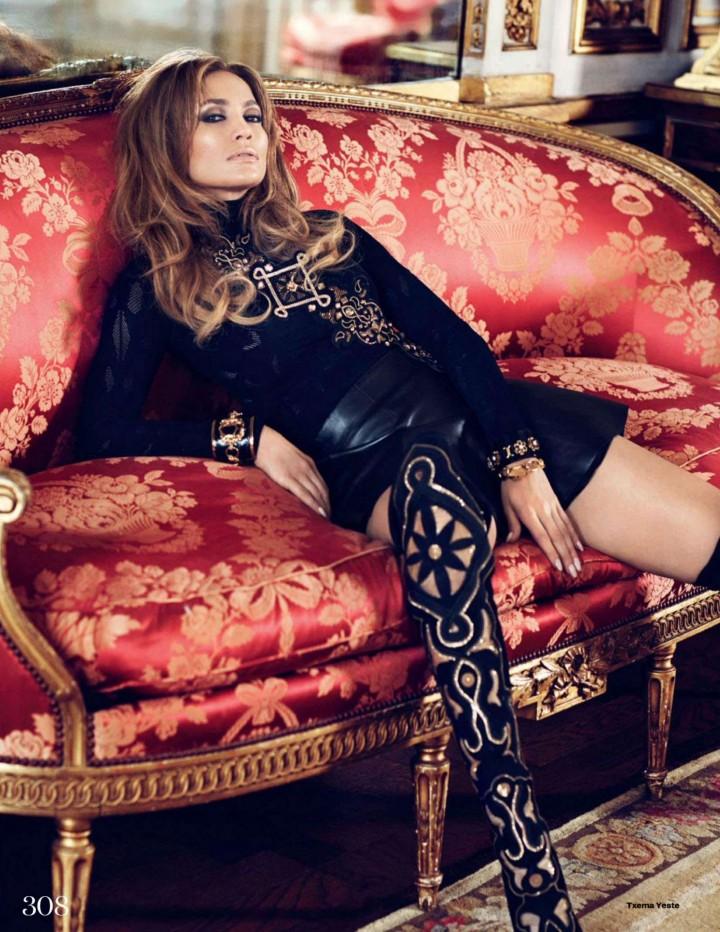 Jennifer Lopez in ELLE UK Magazine (October 2014)