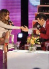 Jennifer Lopez - leggy, at TV show in Argentina-02