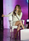 Jennifer Lopez - leggy, at TV show in Argentina-05