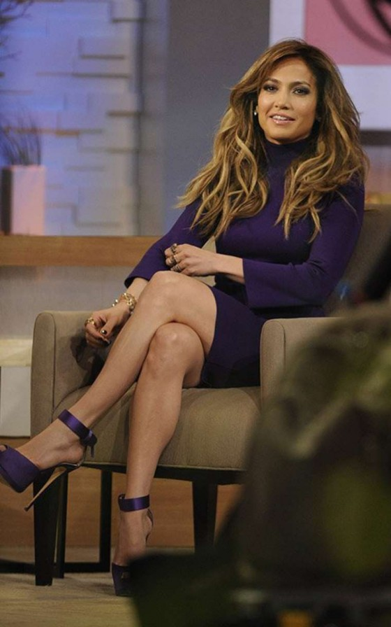 Jennifer Lopez Photos on Good Morning America 2013