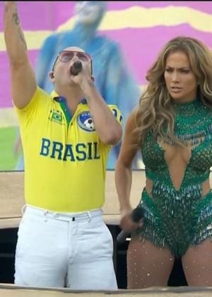 Jennifer Lopez and Claudia Leitte - Brazil 2014 -05