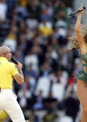 Jennifer Lopez and Claudia Leitte - Brazil 2014 -12
