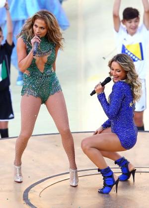 Jennifer Lopez and Claudia Leitte - Brazil 2014 -13