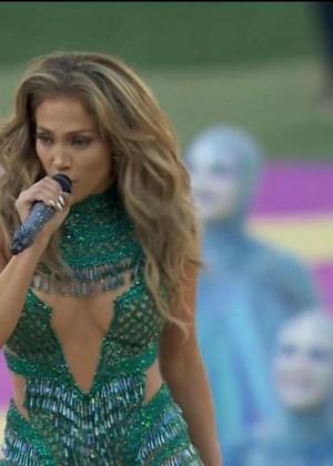 Jennifer Lopez and Claudia Leitte - Brazil 2014 -15