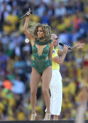 Jennifer Lopez and Claudia Leitte - Brazil 2014 -16