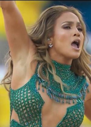 Jennifer Lopez and Claudia Leitte - Brazil 2014 -17