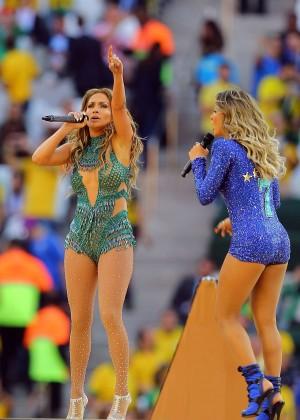 Jennifer Lopez and Claudia Leitte - Brazil 2014 -20