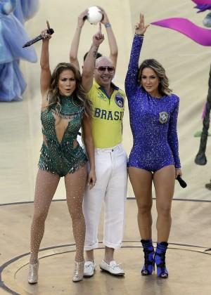 Jennifer Lopez and Claudia Leitte - Brazil 2014 -29