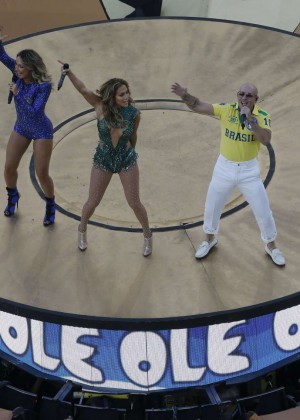 Jennifer Lopez and Claudia Leitte - Brazil 2014 -31
