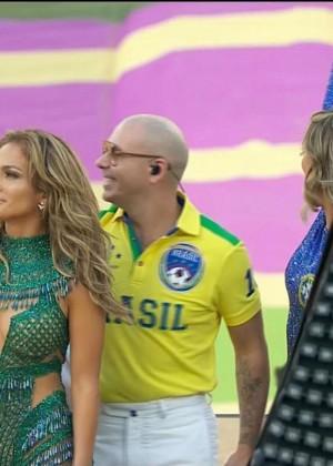 Jennifer Lopez and Claudia Leitte - Brazil 2014 -33