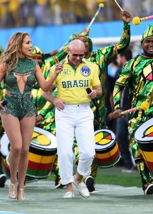 Jennifer Lopez and Claudia Leitte - Brazil 2014 -37
