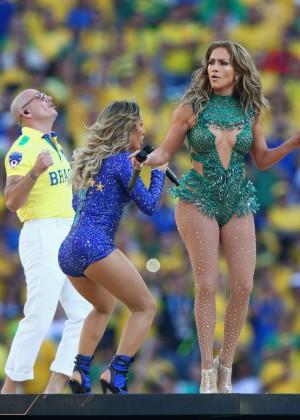 Jennifer Lopez and Claudia Leitte - Brazil 2014 -38