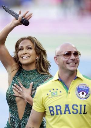 Jennifer Lopez and Claudia Leitte - Brazil 2014 -42