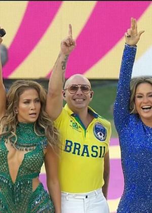 Jennifer Lopez and Claudia Leitte - Brazil 2014 -46