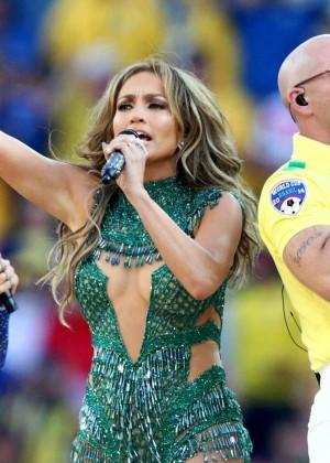 Jennifer Lopez and Claudia Leitte - Brazil 2014 -48